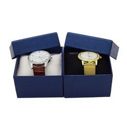 Wholesale gift box packaging logo - Special for Custom Logo Wholesale Watch Jewelry Gift Box Case Promotion horloge doosje doosje, May Custom Logo Packaging Boxes