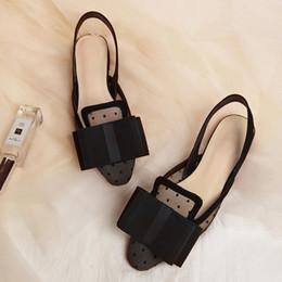 Sapato incrível on-line-Incrível Sandálias Slingback Mulheres Sapatos De Malha De Salto Plana Marca Dir Chinelos de Verão