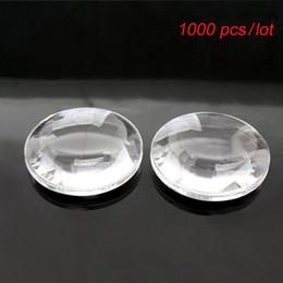Lente convexa on-line-1000 pcs Convexo Acrílico 37mm Biconvex Lens diâmetro 37mm Focal Comprimento 45mm google papelão V2