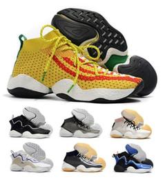 Wholesale crazy designer - New Crazy Byw I Socks Basketball Shoes Mens Black Pharrell X Ambition PK Designer Skateboard Fly Line Classic Trainer Tennis Shoe Sneakers