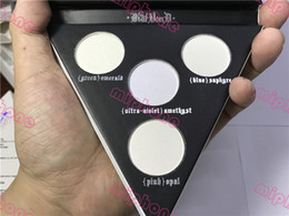 Wholesale Price K - Hot sale K Makeup 4 Colors Face & Eye Highlighter Palette Long-lasting Alchemist Holographic Brand Cosmetics Free shipping best price