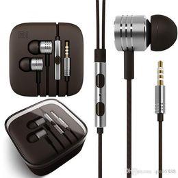 XIAOMI Piston Earphone 3.5Mm Jack Auriculares Auriculares In-Ear Auriculares Auriculares estéreo para Xiaomi HTC Samsung con control remoto MIC desde fabricantes