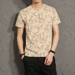 6b24aa354f8 Designer Tshirt Mens Camouflage Short-sleeved T-shirt Summer Urban Large  Size Thin Section Breathable Dark Camouflage Short Tees discount thin  breathable ...