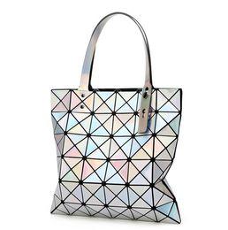 Wholesale pocket edition - Fashion handbags ever folded single shoulder bag handbag brand Han edition ling madame printing zipper bag