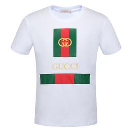 stilvolle männer t-shirts Rabatt neue Sommer Designer T Shirts Herren Tees Marke T Shirt Marke Brief Muster Herren Bekleidung Kurzarm T-Shirt Casual T-Shirt