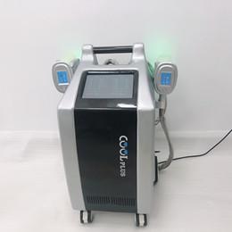 puede mecanizar Rebajas ETG50-4SP Cryolipolysis Machine / Cryolipolysis Fat Freezing Machine con doble canal y dos mangos puede trabajar simultáneamente