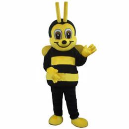 Maskottchen für festivals online-Erwachsenes Maskottchen-Kostüm der Qualitäts-Biene 2018 für freies Verschiffen des Festivals / der Partei