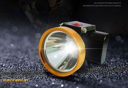 lampade a cappuccio per i minatori Sconti Lampada da miniera ad alta luminosità KL2.8LM Lampada frontale per mini faro da 4000mAh