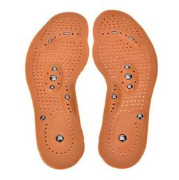 Wholesale magnetic acupuncture - Magnetic insole care footbed magnetotherapy Foot Massage Magnet Therapy foot pain acupuncture points foot Health
