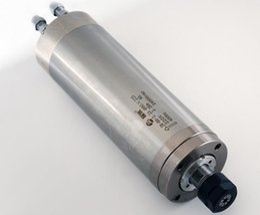 Enfriador de agua cnc online-2.2KW motor refrigerado por agua del eje 220V teniendo CNC 400HZ grabado Vfd Mill Grind 2.2KW motor refrigerado por agua del husillo