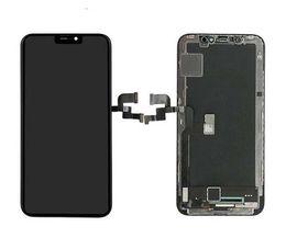 2019 оптовые телефоны для повышения Для iPhone X 1: 1 Отлично OEM OLED Экран Класса A +++ Дисплей Сенсорный Экран Digitizer Полная Замена Сборки 5.8 Дюймов ЖК-ДИСПЛЕЙ DHL