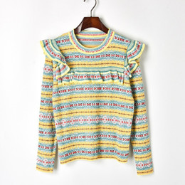 knitwear cute sweaters Promo Codes - Autumn winter new 2018 women cute  ruffles long sleeve knitting 255ebc1ca