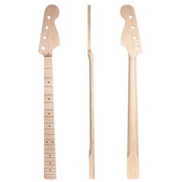 Satin clair de frette de l'érable 21 de cou de guitare électrique pour le remplacement de pièces de JB ? partir de fabricateur