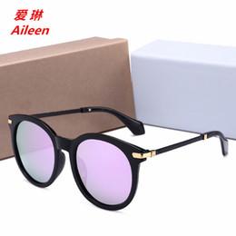 2018 versione coreana di occhiali da sole polarizzati colore pellicola rotonda specchio rana occhiali occhiali da sole occhiali da sole produttori batch 55059 da