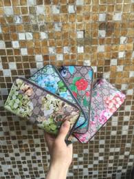 Wholesale Mobile Phone Bag Purse Wallet - LOUIS VUITON Floral single-leather wallet MICHAEL KOR purse 2018 GG tote top leather coin purse Mobile phone bag