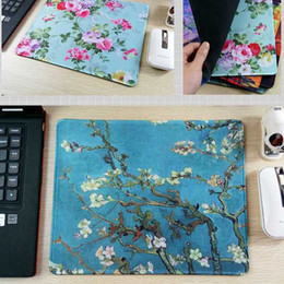 Wholesale Paint Free Games - New Arrival Painting game mouse pad rectangular rubber mat decorate your desk and computer Free shipping