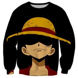 Canada 2017 NEW FASHION hommes ET femmes tops cool impression 3D Topi Luffy One Piece Hot style sweatshirt enchanteur pull streetwear supplier enchantress fashion Offre