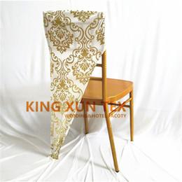 parágrafo do computador Desconto Cor de ouro e prata bronzeamento revestido Spandex cadeira Hood Cap para Chiavari cadeira capa frete grátis