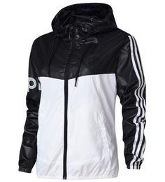 encaje negro chaqueta con cuentas corta Rebajas Chaquetas de diseñador de lujo marea de moda chaqueta de las mujeres deporte paravientos al aire libre para mujeres abrigo de manga larga M-2XL