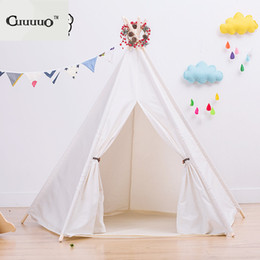 Wholesale Net Photos - 2017 INS Hot DIY Kid Baby Outdoor Play House Camping Beach Tent Bed Folding Cloth Photo Tent Decor Mosquito Net Accessories