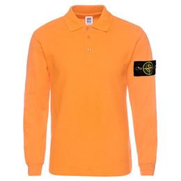 Wholesale island shirts - 2017 hot selling island good quality man's T-Shirt , 220 gramme cotton knitwear stone T-Shirt long sleeve Tee big size XS-3XL