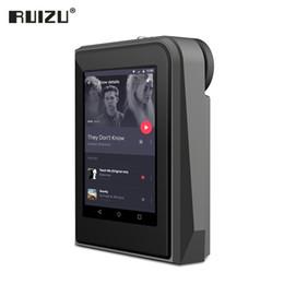 Schermo 2.5 online-RUIZU A50 HD Lossless Mini Sport MP3 Player con schermo da 2.5 pollici HiFi mp3 Music Player Supporto 128G TF Card / DSD256 di alta qualità