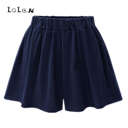 Wholesale Capris Skirt - 2017 Summer New Elastic Waist Wide Leg Plus Size Shorts Skirts for Women 40-120kg