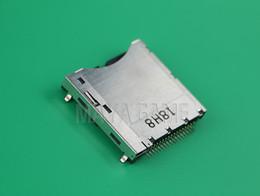 spielkartenadapter Rabatt Original-Kartensteckplatz für NDSL-Konsole Spiel Reparatur interne Ersatzkarte Buchse Stecker Adapter-Anschluss