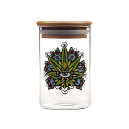 Argentina Soulton Recipiente de vidrio Vaso de vidrio Frasco ancho Boca Anillo de sellado Recipiente sellado Vacío Herb Frasco Herb Contenedor Caja de pastillas supplier up jar Suministro
