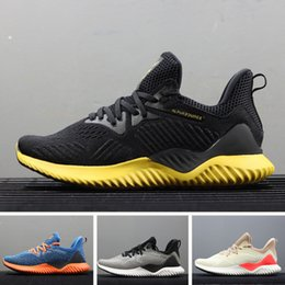 904fd9f628e9a Nouvelle marque Vente Chaude Alphabounce EM 330 Casual Chaussures Alpha  bounce Hpc Ams 3 M Sports Trainer Sneakers Homme Chaussures Taille 40-45  promotion ...