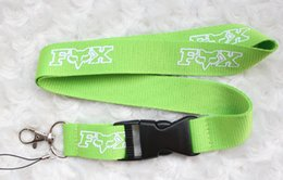 Wholesale Brands Badge Holder - Fox Israel fashion brand Lanyard ID Badge Key Holder chain iPod Camera Neck Strap Detachable there are three colors to choose from