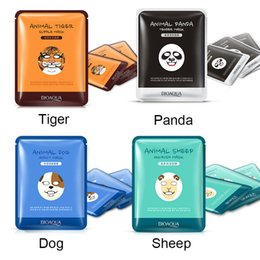 Wholesale Sheep Oil - BIOAQUA Tiger Panda Sheep Dog Shape Animal Face Mask Moisturizing Oil Control Hydrating Nourishing Facial Masks 0611037