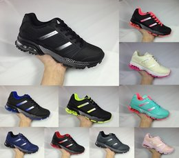 Wholesale Resistance Shoes - 2018 Design Spring and Fall Shock Resistance Air Cushion Marathon Cosmic Running Shoes for men women Light walking sport shoes size eur36-44
