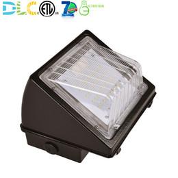 Mh hps on-line-15 w 24 w 48 w LED Wall Pack Luz [50 W MH HID HPS Substituição] Luz de Segurança de Parede Ao Ar Livre Iluminação Dispositivo Elétrico IP65 5000 K 130lm / w ETLDLC