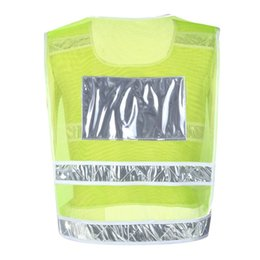 Wholesale night knight - Men's Sports Vest Traffic Motorcycle Night Knight Safety High Visibility Reflective Outdoor Sports Vest