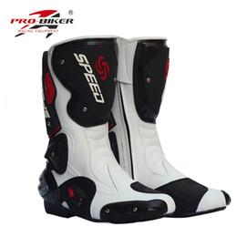 Argentina Zapatos de paseo de motocicleta de diseño largo Pro off-road boots Male Zapatos de carreras de automóvil de automóvil de mujer off-road bikecycle ride supplier shoes boot design Suministro