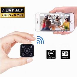 Wifi klammer online-Neue Weitwinkel Mini Kamera WiFi Fernbedienung HD 1080 P Kamera Babyphone IR Nachtsicht Recorder mit Halterung Sport Kamera Mini DV Dashcam