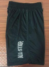 ropa deportiva s estrella Rebajas 2018 Nuevos Shorts Shorts All Star Pantalones cortos Baseketball Running Ropa Deportiva Blanco y Negro Color Talla S-XL Mix Match Order High Quality