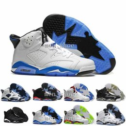 Wholesale Real Low Cheap - Wholesale 2017 Cheap New Air 6 VI 6s mens Basketball Shoes Low Women Men s Real Replicas Man Hombre Sports Sneakers women shoes