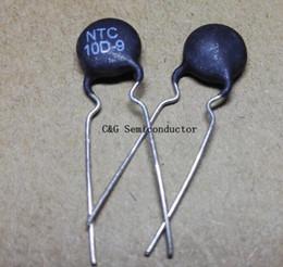 Termistor / termistor do resistor térmico de 20pcs NTC 10D-9 de