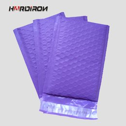 18.5x23 + 4cm 50pcs plástico burbuja plástico Mailer acolchado bolsas de correo / color púrpura bolsas de mensajero a prueba de golpes desde fabricantes