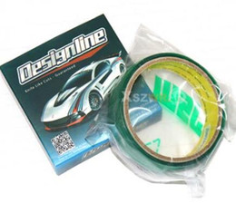 """Wholesale Car Body Designs - 1 8"""" 3.5mm 50m Wide Design Line Knifeless Tape Cutting Tape Wrap Film Car Wrapping"""