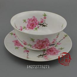Wholesale Traditional Chinese Ceramics Porcelain - New Jingdezhen porcelain collection Antique porcelain collection Decoration tableware plate dishes bowl plum plans bowls