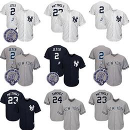 Wholesale Blue Anthony - #2 23 Don Mattingly 24 Gary Sanchez 27 99AaronJudge York Yankees stitched Jersey