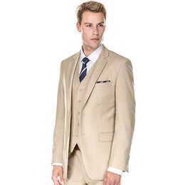 шампанское смокинг костюмы для мужчин Скидка Мужские костюмы для шампанского Свадебные костюмы на заказ для смокингов для жениха Смокинги Пиджаки Slim Fit Жених 3 шт. Куртка Брюки Жилет с двумя пуговицами