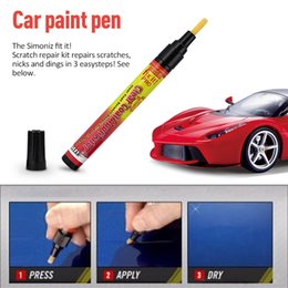 Wholesale Clear Coat Applicator - Fix It Pro Clear Car Scratch Repair Pen Simoniz Fix It Pro Clear Car Scratch Repair Painting Pen Clear Coat Applicator