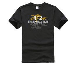 Wholesale Concert Tour T Shirts - Fashion U2 The Joshua Tree 30th Anniversary World Concert Tour T Shirts Top Women UK Band Retro Short Sleeve T-Shirts