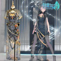 Vocaloid cosplay luka on-line-vocaloid Hatsune Miku Megurine Luka chinês Luo Tianyi pássaro canário ver traje cosplay