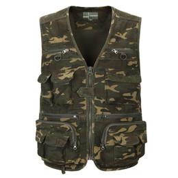 Argentina Chaleco táctico específico para el ejército multijugador de verano chaleco de caza de camuflaje biónico al aire libre chaleco camuflaje hombro hombres L-XXXXXL Suministro