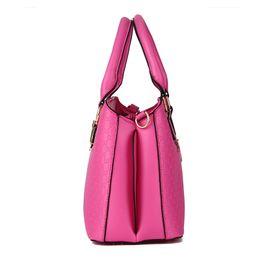 3da12618787f 2016 Elegant Fashion High Quality Women Handbags Big Smooth Shoulder Bags  Famous Brands Charm Luxury Female Tote Messenger Bag